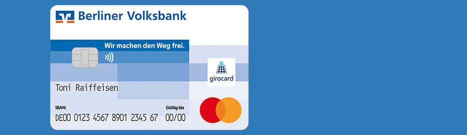 Bild der VR-BankCard Standard